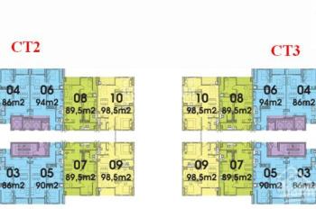Cho thuê căn hộ chung cư Coma 6 - Dream Town DT 89m2. Đồ gắn tường giá thuê 6tr/tháng