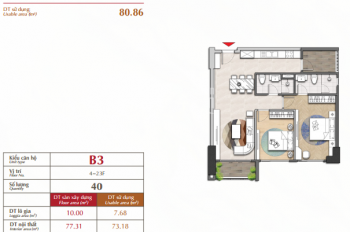 Mở bán The Antonia Phú Mỹ Hưng, TT 20% nhận nhà, chiết khấu 1% hoặc 2 năm phí quản lý