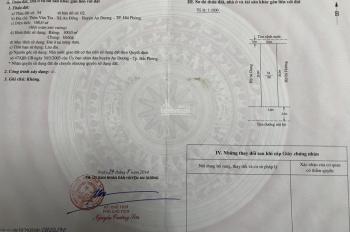 Bán lô đất 100m2 TĐC Vân Tra, An Đồng. Giá đầu tư