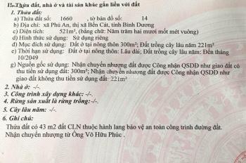 Bán nhà đất Phú An, Bến Cát, Bình Dương inbox 0933.823.818
