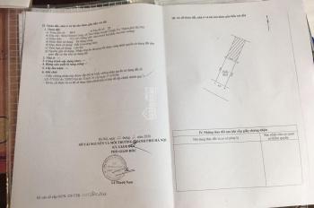 Bán đất Tam Hiệp, Thanh Trì, Hà Nội, DT: 52.2m2, mặt tiền: 4.27m, hướng Nam, LH 0913371919