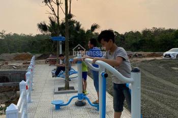 1,3 tỷ/ lô đất nền thổ cư vị trí cổng ra của CNC Hòa Lạc, đối diện đất dịch vụ, SHR, LH 0943954098