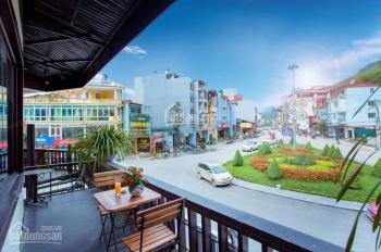 Bán nhà phố kinh doanh vị trí đẹp nhất Sapa - view hồ + vườn hoa siêu đẹp