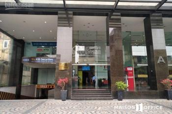 Cho thuê văn phòng hạng B tòa nhà Sky City Tower - 88 Láng Hạ, 65 m2, 95m2, 100m2, 120m2, 150m2