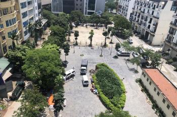 Bán nhà 6T, 1 hầm mặt vườn hoa Dịch Vọng Hậu 110m2 hoàn thiện cao cấp, tiện kinh doanh. Giá 27 tỷ