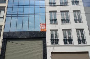 Cho thuê nhà mặt phố ngã tư Cầu Giấy, 6T x 58m2 thông sàn, cầu thang máy