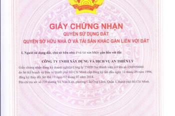 Bán nền nhà phố An Thiên Lý, D4, Dương Đình Hội, Quận 9 giá tốt