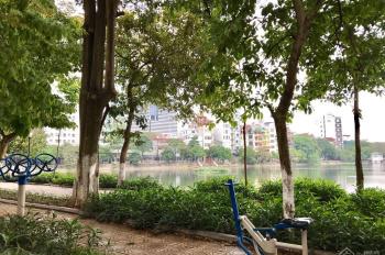 Bán mặt phố Trần Hữu Tước nhìn ra Hồ Đắc Di, DT 60m2