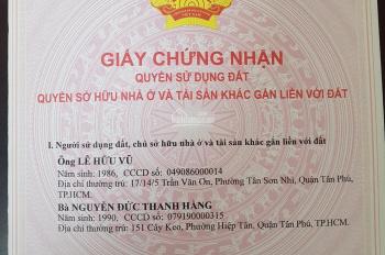 Cần bán nhà chính chủ hẻm Bùi Quang Là, gần chợ Phạm Văn Bạch, gần sân bay Tân Sơn Nhất 0901206572