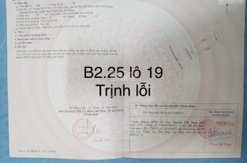 Bán đất đường Trịnh Lỗi, khu Nam Việt Á
