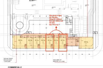 Bán lại shophouse The River Thủ Thiêm, 8x14m 4 tầng. Mặt tiền Đại Lộ