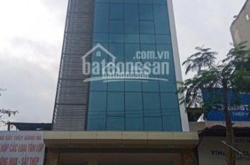 Cho thuê tòa văn phòng 100m2 7 tầng tại Hoàng Văn Thái, sàn để thông