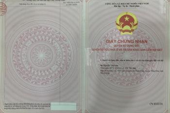 Chính chủ cần bán đất nền đấu giá đường Lê Hồng Phong, thành phố Bắc Giang, LH 0346725485