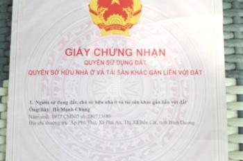 Bán nhà MT chợ 4x28m Ấp 5 xã Vĩnh Lộc B, huyện Bình Chánh, TPHCM
