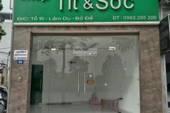 Chính chủ cho thuê tầng 1 mặt phố Hồng Tiến, Long Biên, HN, căn nhà số 90 Hồng Tiến