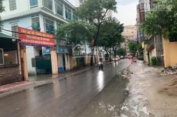Bán đất mặt phố Hoàng Ngân - Thanh Xuân, vị trí vàng của Hà Nội, 800m2, giá 135 tỷ