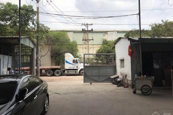Cho thuê kho xưởng 3600m2 mặt tiền QL 1A, giá 180tr/tháng vừa hết hợp đồng tại ngã tư an sương
