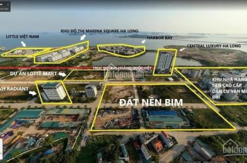 Đất nền trung tâm đa giác 4 Hùng Thắng, Bãi Cháy khơi nguồn du lịch Quảng Ninh. LH 0907381985