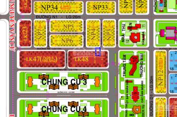 Dự án XDHN, ĐV2 - LK48 - 12, diện tích 200.3m2, đường N8 (17m), giá 8.5 triệu/m2, 0972 880 800 Tân