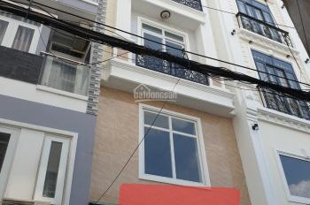 Cắt lỗ 500tr nhà 4 lầu chỉ 6.4 tỷ hẻm thông ô tô thoải mái tại hẻm 261 Chu Văn An, phường 12