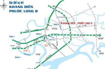 Thanh lý nền đất KDC Khang Điền, đường Dương Đình Hội, Q9, chỉ từ 17tr/m2, nền 100m2. LH 0902767625