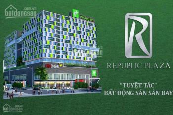 Cho thuê officetel Republic đường Cộng Hòa DT 50m2 giá 14tr, miễn phí hồ bơi, phòng gym