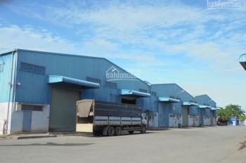 Cho thuê xưởng Sóng Thần 1, khuôn viên 11000m2, nhà xưởng 9000m2, 2 cái liền kề 4500m2, giá 55k/m2