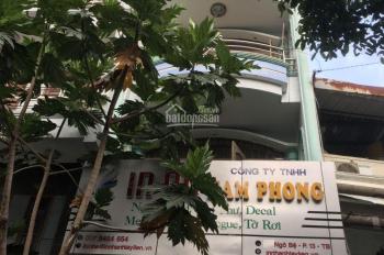 Nhà 3 lầu, 4x20m, đường Ngô Bệ, P13 Tân Bình