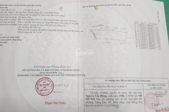 Bán đất tại xã Tân Phúc, Huyện Hàm Tân- Tỉnh Bình Thuận