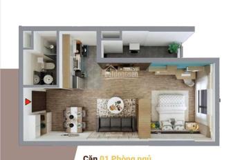 Bán căn 1 phòng ngủ chung cư Dabaco Lý Thái Tổ - Lotus Central chỉ 1 tỷ 1xxtr