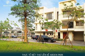 CĐT mở bán 7.1 tỷ/lô biệt thự Arden Park, đã hoàn thiện, miễn dịch vụ, vay ưu đãi: 0966 100 509