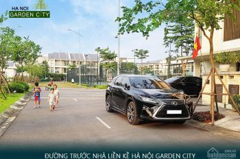 Ký trực tiếp CĐT 49 tr/m2 biệt thự Hà Nội Garden City, đã hoàn thiện, miễn dịch vụ, chiết khấu cao