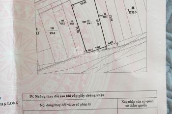 Bán lô đất mặt đường EC Hùng Thắng. 0974533009