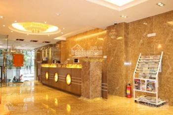 Tòa nhà 7 tầng mặt phố Nguyễn Phong Sắc. DT 51m2, MT 3.9m sau ngõ, giá 17.5 tỷ, 0913 80 81 86