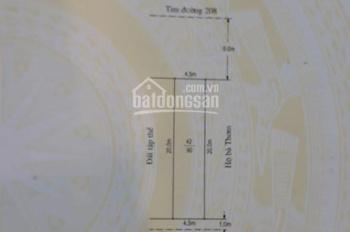 Lô đất đẹp mặt đường 208 - An Đồng gần An Đông Trang, giá tốt cho nhà đầu tư chỉ 2 tỷ. 0904271579
