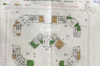 Bán lô góc shophouse tại R01 Royal City 72A Nguyễn Trãi, DT: 105.9m2, giá 14 tỷ bao phí. 0962984823
