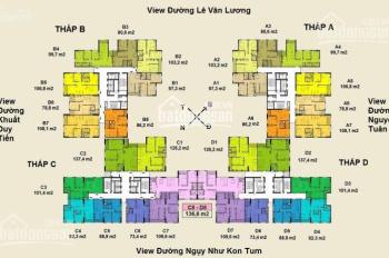 Em cần bán gấp căn hộ 3 phòng ngủ chung cư Việt Đức Complex, 39 Lê Văn Lương, Thanh Xuân
