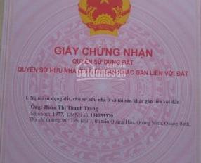 Bán đất nền dự án ở KDC Vĩnh Phú 2, đã có sổ hồng, thổ cư 100%, ĐT: 0902896415