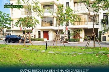 Suất ngoại giao liền kề Garden City Long Biên đã có sổ 49 triệu/m bàn giao chủ đầu tư, hoàn thiện ở