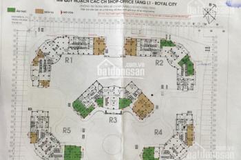 Chính chủ bán shophouse tại R01 Royal City 72A Nguyễn Trãi, DT: 105.9m2, 14 tỷ bao phí. 0962984823