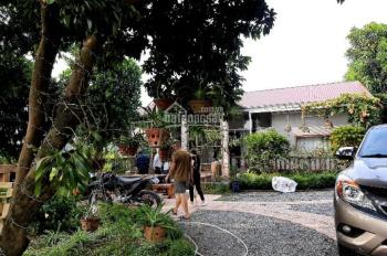 Bán nhà Lương Sơn khuôn viên sẵn 1400m2 kiến trúc hiếm có đường bê tông qua cửa view cánh đồng