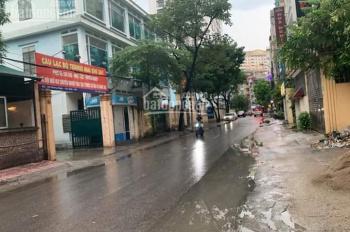 Bán đất mặt phố Hoàng Ngân - Thanh Xuân, 800m2 xây nhà cao tầng, giá 135 tỷ