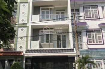 Cho thuê nhà 5x20m 3 lầu 4 phòng đường nội bộ Nguyễn Duy Trinh - p. Bình Trưng Đông