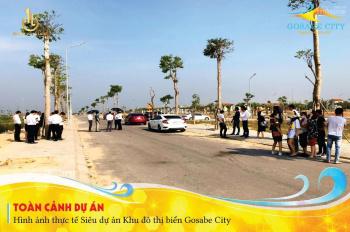 Nhận đặt chỗ giai đoạn 1 dự án Gosabe City - KĐT biển bậc nhất miền trung. 0911333179 (phim)