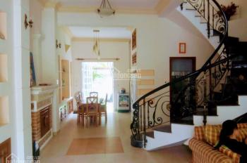 Biệt thự Thảo Điền cho thuê Nguyễn Văn Hưởng, 1 trệt 1 lầu áp mái DT 6x25m