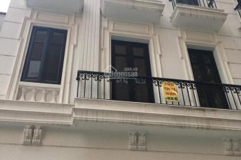 Cho thuê nhà KĐT Đại Kim, phường Định Công Hoàng Mai 85m2*5 tầng, thang máy giá 35tr, LH 0968120493