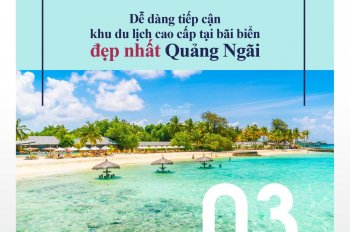 Bán đất mặt tiền biển Mỹ Khê Quảng Ngãi, vị trí thuận tiện để kinh doanh nhà hàng, khách sạn