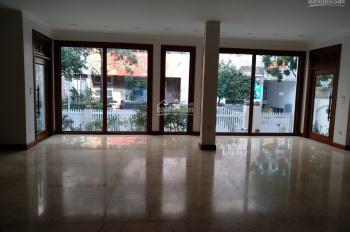 Cho thuê toàn nhà hiện đại thông sàn thang máy phố Xã Đàn. 160m2 x 5 nổi + 1 hầm MT 6m giá 120tr/th