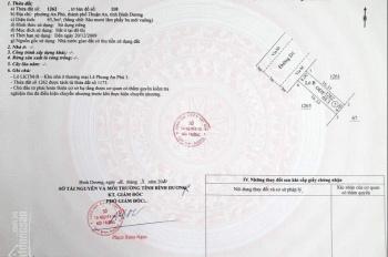 Bán đất nằm đầu trục chính Lê Phong 3 An Phú. Diện tích 65,3m2 kinh doanh được vô số ngành nghề