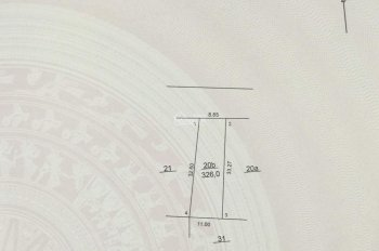 Bán đất đối diện nhà văn hóa thôn Lương Châu, Tiên Dược, Sóc Sơn, diện tích 326m2, giá 4 tỷ